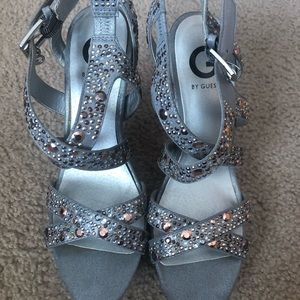Silver Guess shoes